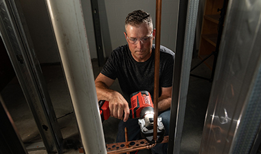 RIDGID® Adds to Industry-Leading Press Tool Line with RP 350 Pistol-Grip