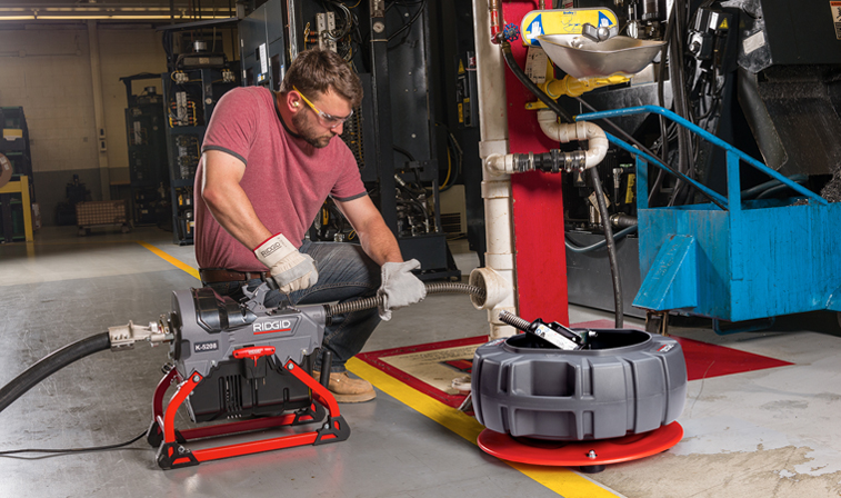 RIDGID K-5208: The Most Powerful And Compact Sectional Drain Cleaner