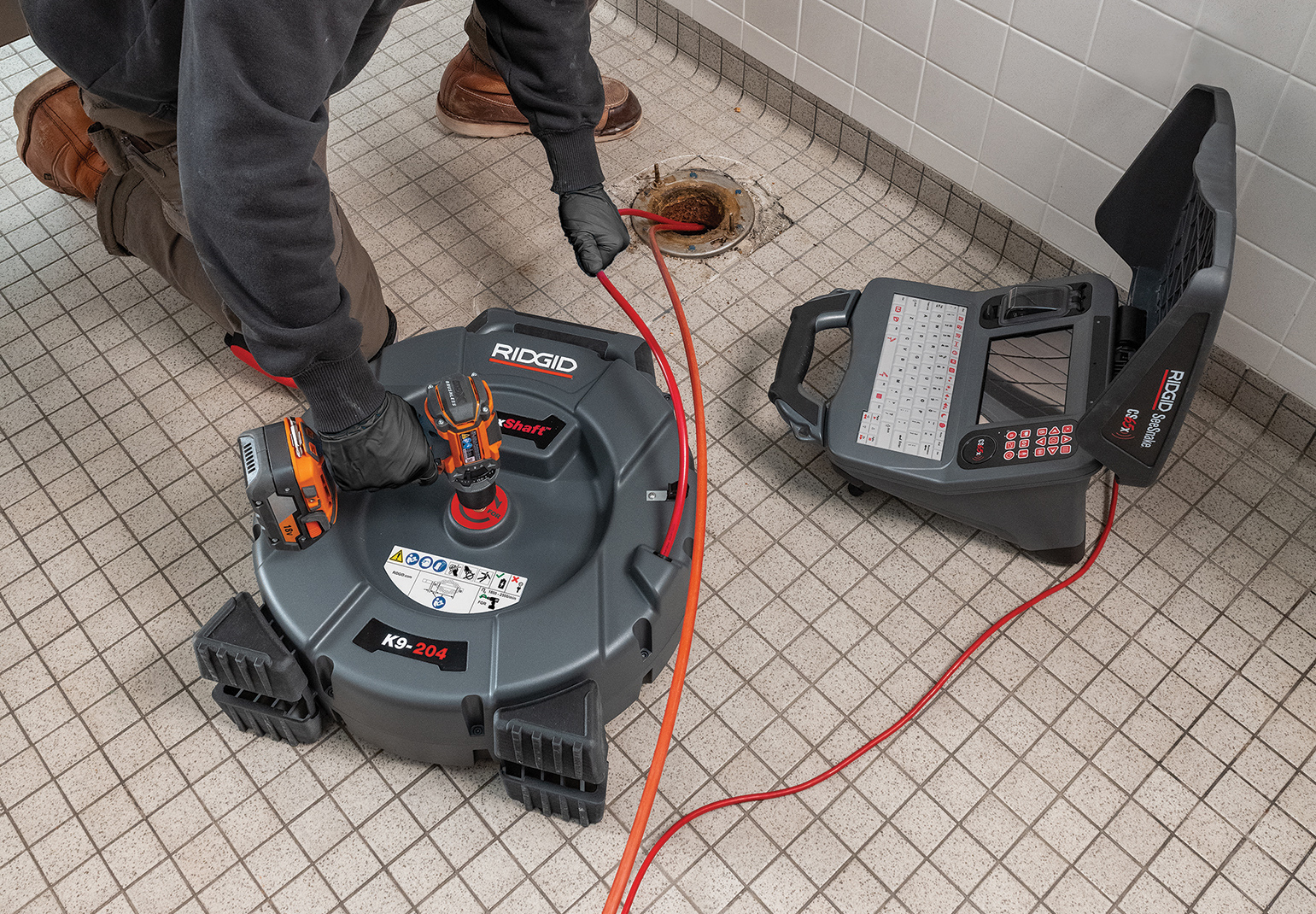 RIDGID Flexshaft Drain Cleaning Press Release