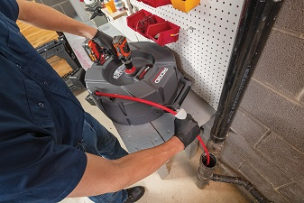 RIDGID® FlexShaft™ The New High-Speed Drain Cleaning Machine For The Modern Era