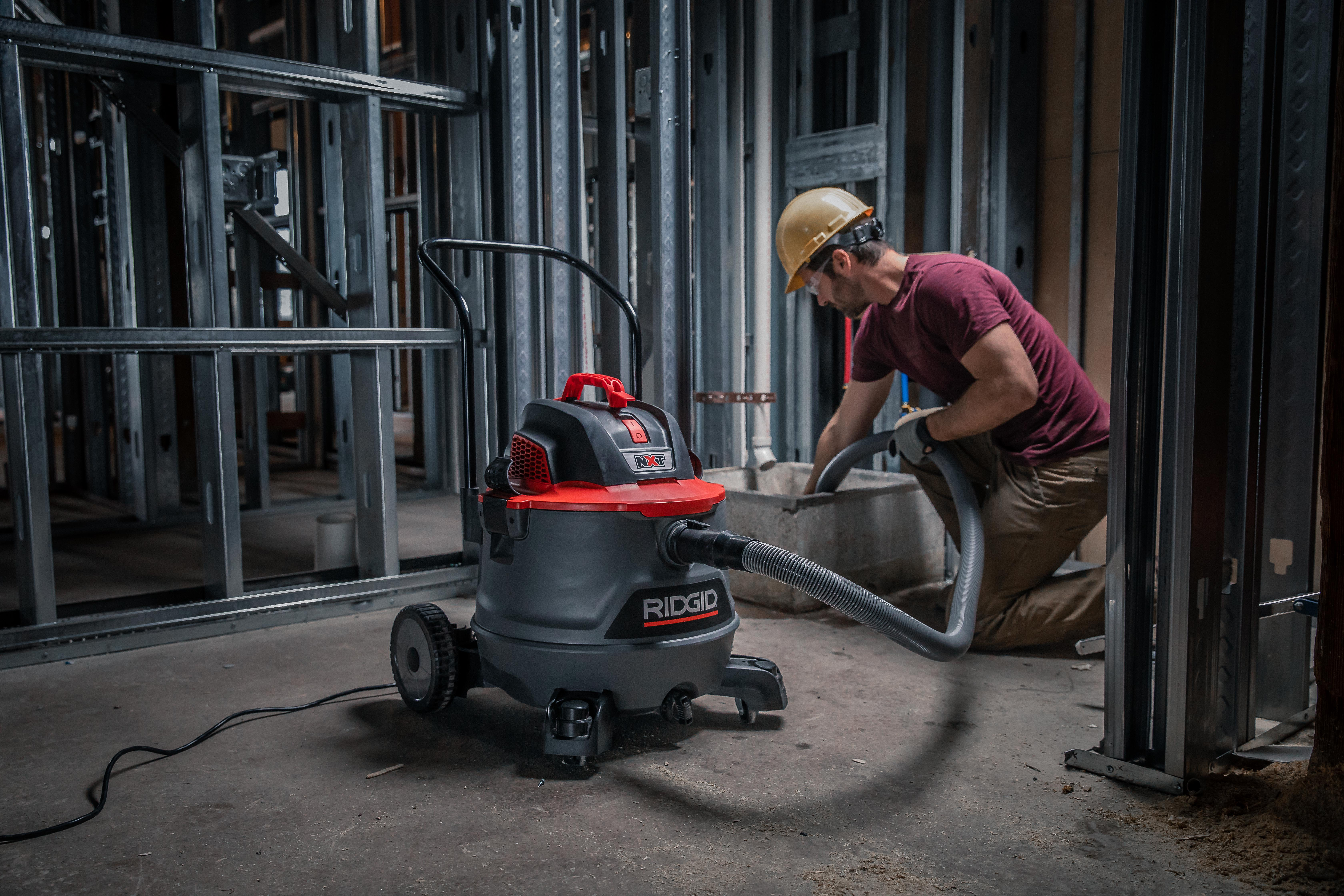 Redesigned RIDGID® Wet/Dry Vacs Deliver Even More Jobsite Convenience