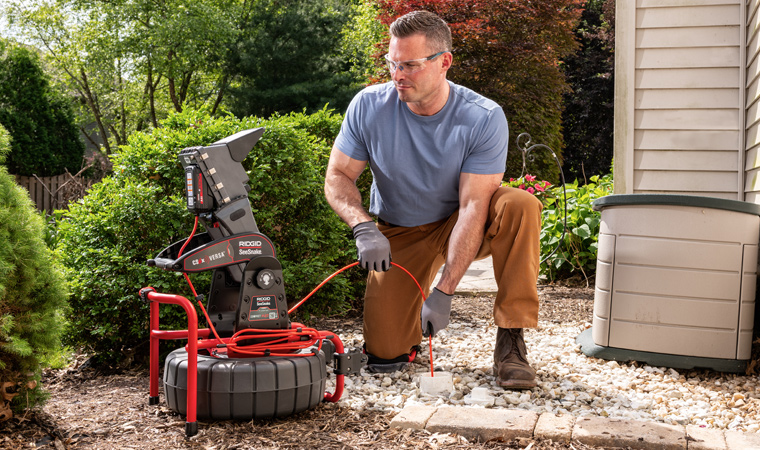 Powerful Addition to RIDGID® Line of Compact Camera Reels With TruSense™ Technology