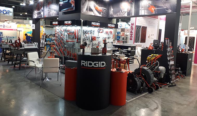 Ведущий мировой производитель профессионального инструмента RIDGID приглашает на выставку Акватерм 2020
