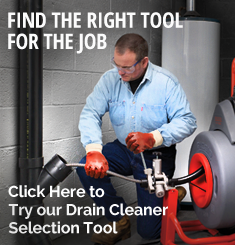 Try our Drain Cleaner Selection Tool