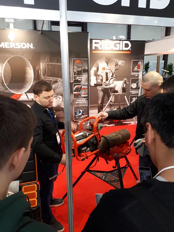 RIDGID принял участие на выставке Сварка/Welding 2018 в Санкт Петербурге.