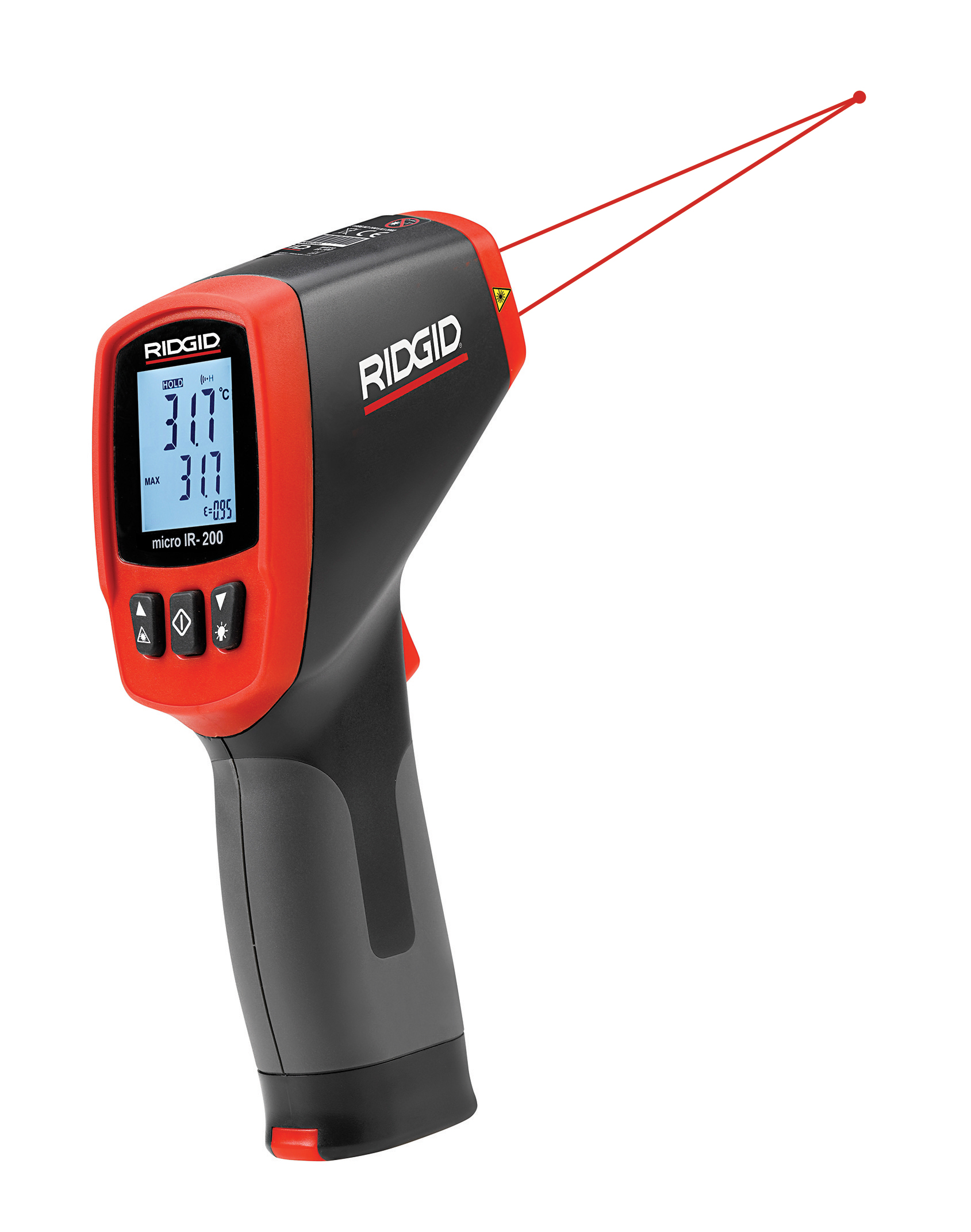RIDGID® Upgrades Non-Contact Infrared Thermometer, Now Reads Higher Temperatures