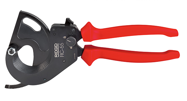 New Line of Cable Cutters from RIDGID® Feature Lightweight, Ergonomic Design