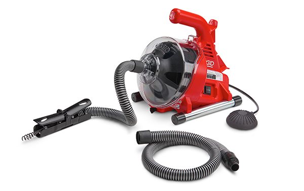 Effortlessly Remove Blockages with the New RIDGID PowerClear Drain Cleaner 1