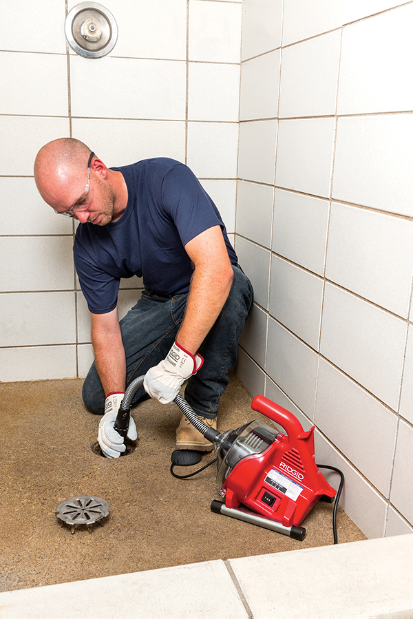 Effortlessly Remove Blockages with the New RIDGID® PowerClear™ Drain Cleaner