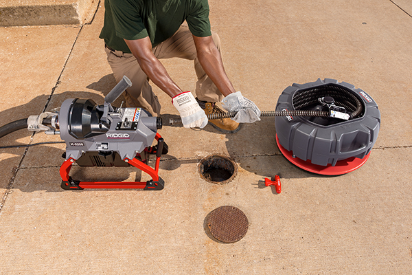 RIDGID® Introduces Most Powerful, Compact Sectional Machine on the Market