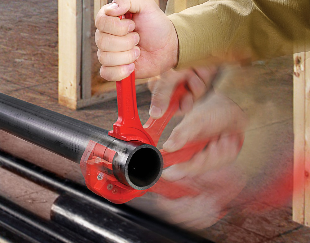 New RIDGID® FC-Cutters Cleanly Cut ABS and Foam Core PVC Pipes