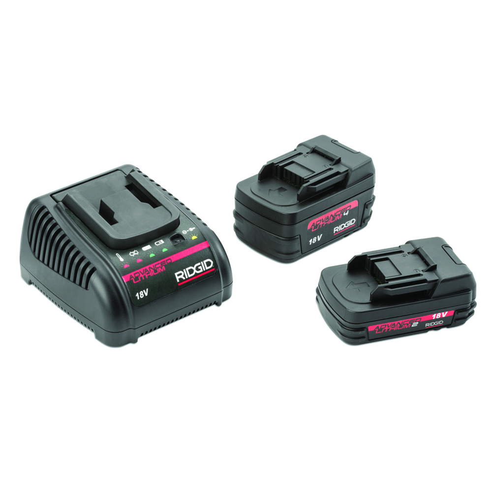 New RIDGID® Advanced Lithium 18V Batteries Deliver Improved Technology, Performance