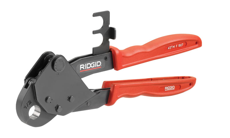 New RIDGID® Close Quarters PEX Crimp Tools