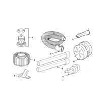 WD40700, WD4071 Vac Assembly