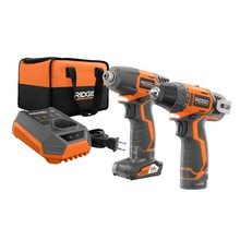 12V 2-Speed Drill/Driver and Impact Driver Combo