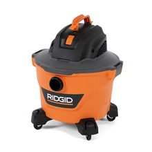 "Part of the most powerful line of vacs RIDGID has ever made, the RIDGID 9 gallon NXT wet dry vac is sleeker than ever and was designed as a modern vac on the outside with amped up power and performance on the inside. The 4.25 peak horsepower motor and 9 gallon drum size are perfect for home improvement projects and cleanup around the garage and shop.   The large 1-7/8"" diameter locking hose locks onto vac so it won't pull loose during use and the added Dual-Flex feature resists collapsing and offers the mobility you need to reach tight places. This vac was built for comfort and convenience with an ergonomic front-to-back top carry handle, comfort grip drum carry handles and latches that securely seal the lid to the drum. Connect the hose to the blower port for added versatility and use for blowing leaves, grass clippings and more.   This vac's patented Qwik Lock® Filter Fastening System makes installing or removing your filter quick, easy and secure. Replacement filter VF4000 and Size C - VF3503 Dust Collection Bags sold separately."