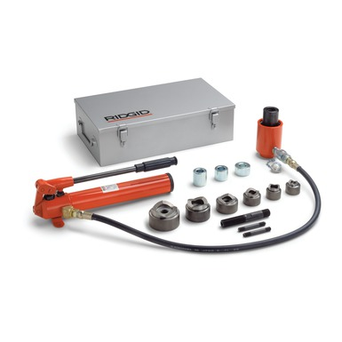 "HKO-186 1/2""-2"" Hydraulic Kit w/Hand Pump (Includes 2 Draw Bolts, Draw Bar, Spacers, 3' Hose)"