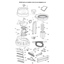 RV2400A Vac Assembly