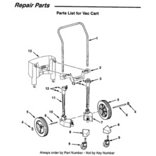 WD17350 Vac Cart Assembly