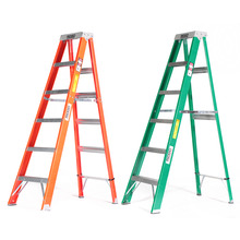 RIDGID Fiberglass Step Ladders with Protop