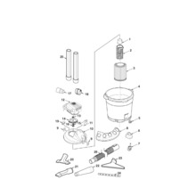WD16700 Vac Assembly