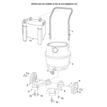 RV2400A Cart Assembly