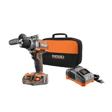 cordless drill and impact driver kits ridgid toolsbrushless 18v compact drill driver
