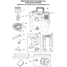 WD10220 Vac Assembly