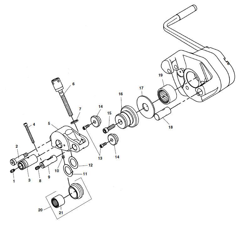 Ridgid 93657 Washer Load Thrust