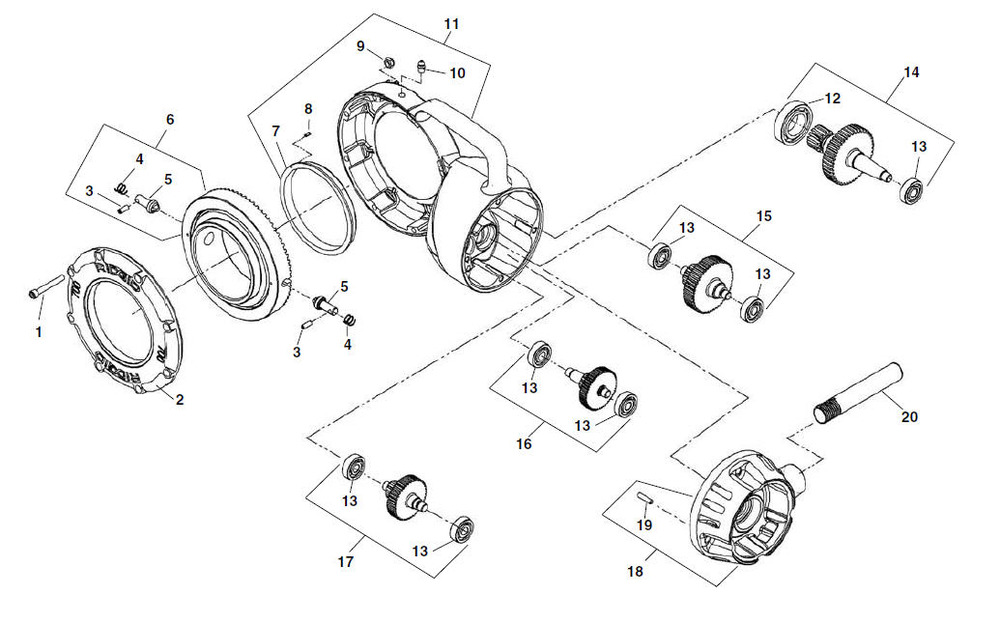 zoom_in gearhead components