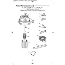 1400RV Vac Assembly