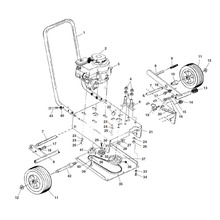 Main Drive and Frame Components
