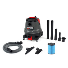 12 Gallon Motor-On-Bottom Wet/Dry Vac (1250RV)