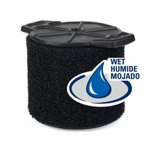 Filtro de espuma para aplicación húmeda VF3700 de 3,0 gal. a 4,5 gal. Aspiradoras para húmedo/seco RIDGID