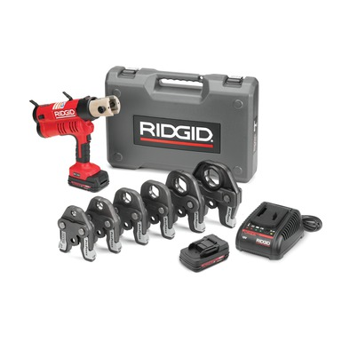 RIDGID 43358 PROPRESS TOOL KIT W/ SIX PROPRESS JAWS 1/2