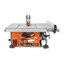 Scie sur table de 15A avec lame de 10po et support pliable