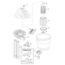 WD0635M0 Vac Assembly