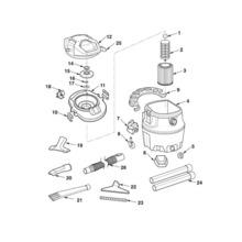WD16800 Vac Assembly