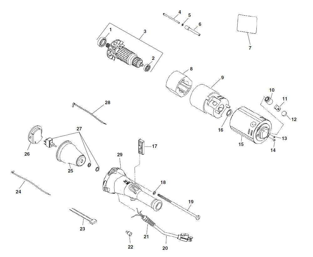 Parts Model 700 Power Drive Ridgid Store Motor Wiring Diagram For Zoom In Electrical Components Type 2