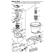 WD16600 Vac Assembly