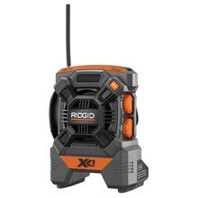 Radio compacta de 18 V