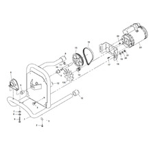 parts k 40 sink machine ridgid storemotor frame assembly