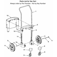 WD17000 Vac Cart Assembly