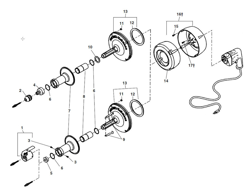 Ridgid K75 Wiring Diagram Toggle Switch - Wiring Diagram