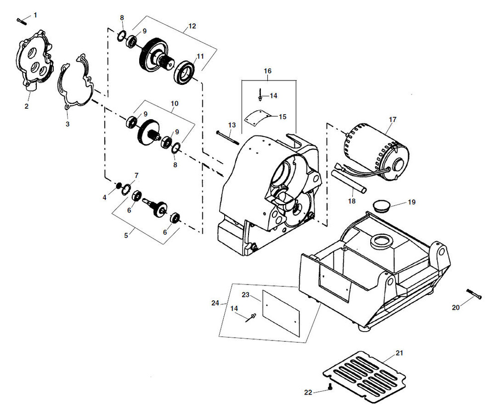 Ridgid 300 Parts Breakdown Wiring Diagram 1210 Oil Less Threading Machine Store 535 Threader