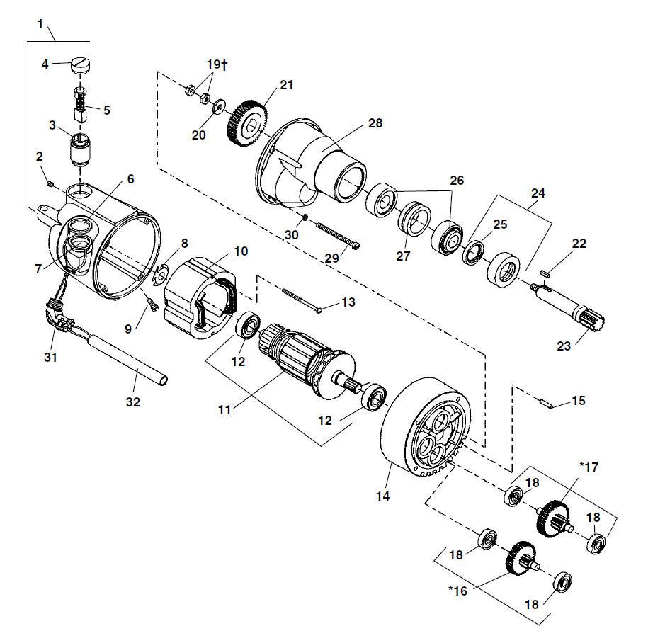Ridgid 44505 Switch Wiring Diagram Beginners 300 Parts Model 535 Threading Machine Store