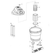 WD06250 Vac Assembly