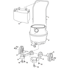 WD18510 Vac Cart Assembly
