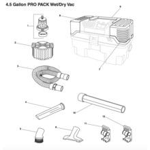 4500RV Vac Assembly