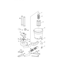 WD16650 Vac Assembly